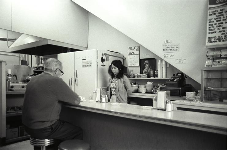 White Rose Cafe, Vancouver, 1974