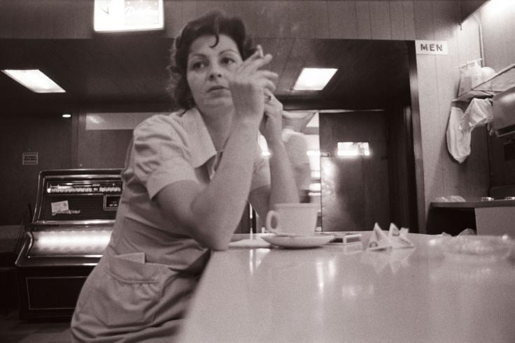 Waitress, Pacific Cafe, 1973